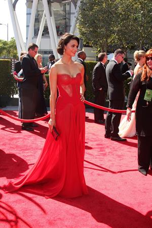 Morena Baccarin - Creative Arts Emmy Awards 9/15/12
