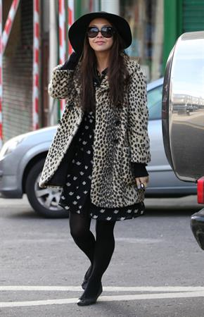 Myleene Klass London, March 12, 2013