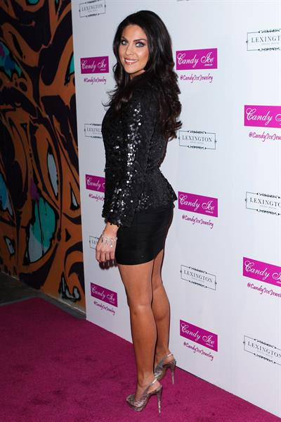 Nadia Bjorlin Fire & Ice Gala Benefiting Fresh2o Candy Ice Jewelry Presentation (March 28, 2013)