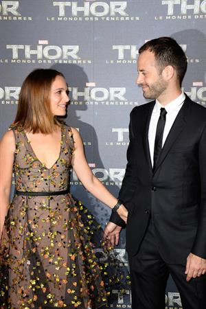 Natalie Portman  Thor: The Dark World  Premiere in Paris 10/23/2013