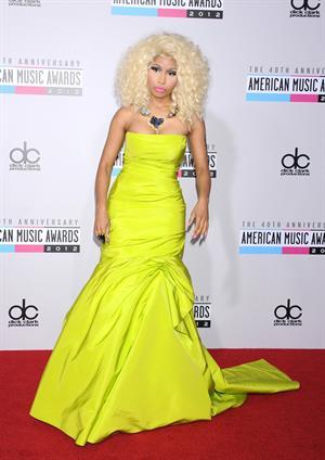 Nicki Minaj American Music Awards (November 18, 2012)
