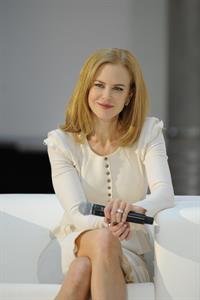 Nicole Kidman Omega Ladymatic promotional press conference in Vienna, Austria -- Mar. 24, 2013