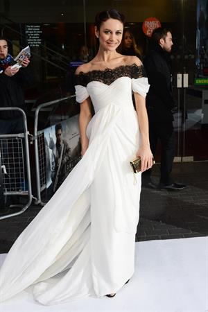 Olga Kurylenko  Oblivion  UK Premiere -- London, Apr. 4, 2013