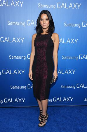 Olivia Munn Samsung Galaxy  Shangri-La  Party, Feb 2, 2013