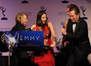 Olivia Munn 64th Primetime Emmy Engineering Awards, October 24, 2012