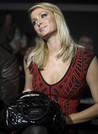Paris Hilton Mango Fashion Show as part of the 080 Barcelona Fashion Week on January 28, 2013
