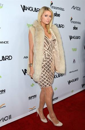 Paris Hilton Will.I.Am's Annual TRANS4M Concert Benefitting I.Am.Angel Foundation in Hollywood February 7, 2013