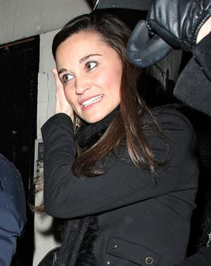 Pippa Middleton Leaving Tonteria Nightclub in London 20.12.12