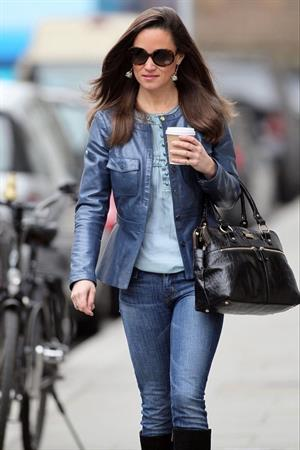 Pippa Middleton out and about in London 11/15/12