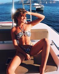 Georgia Gibbs in a bikini