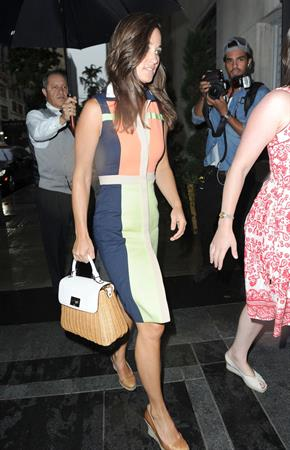 Pippa Middleton - Return from the US Open tennis matches Sept 4, 2012