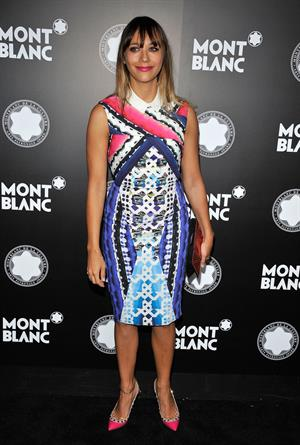 Rashida Jones  Montblanc de la Culture Arts Patronage Award Ceremony in LA - October 2, 2012