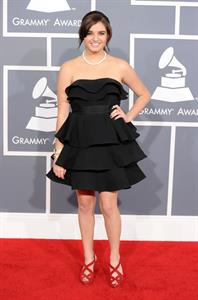 Rebecca Black 54th annual Grammy awards LA 2/12/12