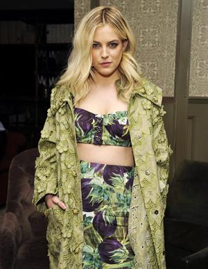 Riley Keough at the  Commando: The Autobiography of Johnny Ramone  Launch Party (April 27, 2012)