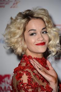 Rita Ora - At The 2012 MTV European Music Awards In Frankfurt November 11, 2012