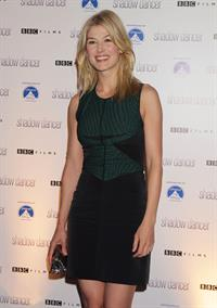Rosamund Pike -  Shadow Dancer  UK Premiere in London - August 13, 2012