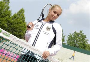 Sabine Lisicki Joachim Storch photoshoot 2011