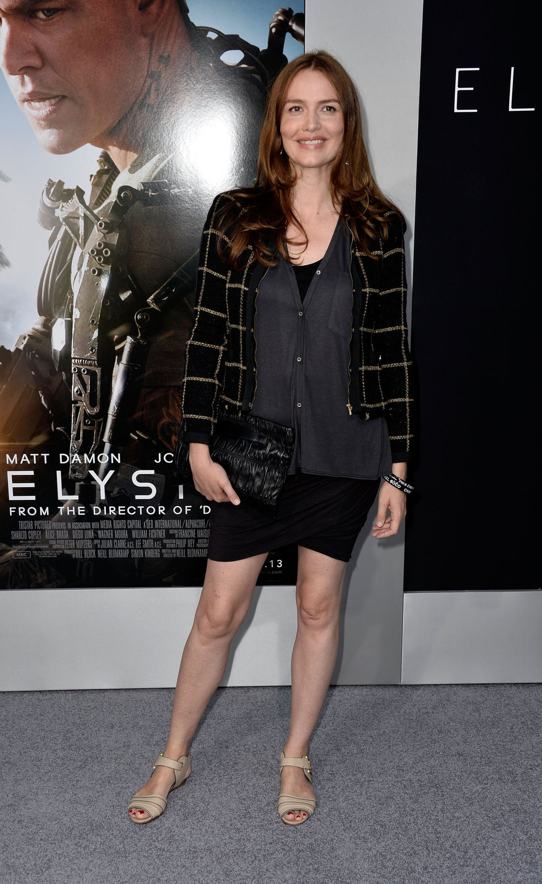 Saffron Burrows  Elysium  Los Angeles Premiere - Westwood, Aug. 7, 2013