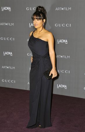Salma Hayek 2012 LACMA Art Film Gala, LA (Oct. 27)