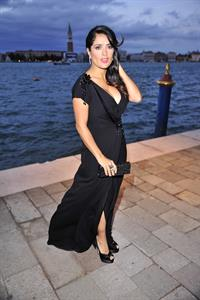 Salma Hayek - Gucci Award for Women in Cinema in Venice August 31, 2012
