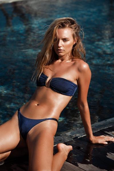 Maya Stepper in a bikini