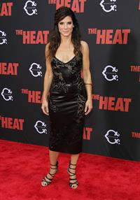 Sandra Bullock attends 'The Heat' New York Premiere at Ziegfeld Theatre in New York - June 23-2013