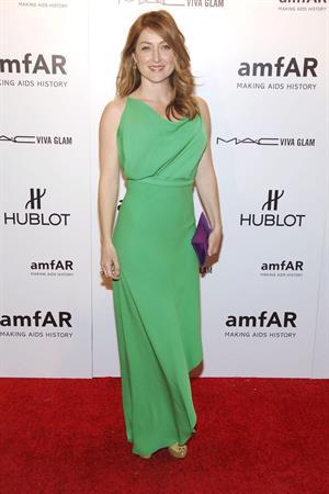 Sasha Alexander AMFAR New  York Gala during fashion week 08.02.12