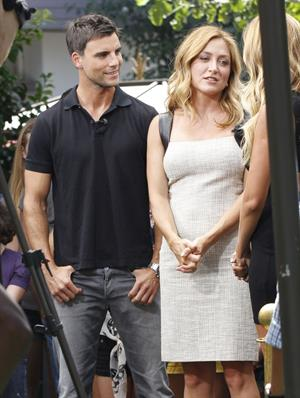 Sasha Alexander - Interview for the show EXTRA at The Grove - LA - 08.13.2012