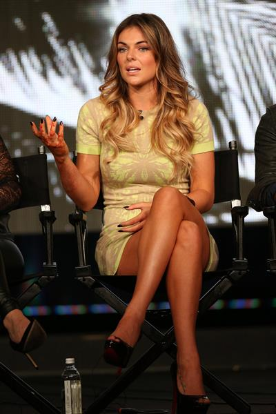 Serinda Swan - 2013 Winter TCA Tour - Day 4, Jan 7, 2013