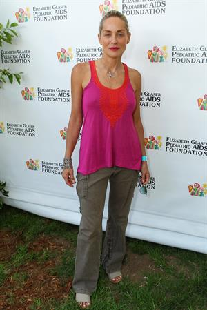 Sharon Stone - 23rd Annual A Time For Heroes Celebrity Picnic - Jun 3, 2012