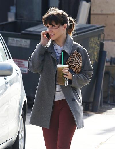 Sophia Bush at Starbucks in Beverly Hills 12/27/12