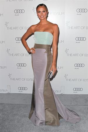 Stacy Keibler The Art of Elysium's Heaven Gala, 13 Jan 2013