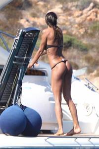 Nina Moric in a bikini - ass