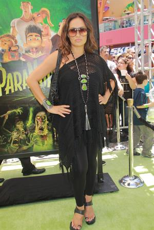 Tia Carrere - Premiere of 'ParaNorman' in Universal City 5/8/2012