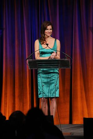 Tricia Helfer The Humane Society of th U.S. To The Rescue! Gala in NY 12/18/12