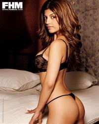 Erika Medina in lingerie