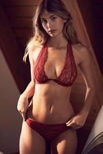 Camila Morrone in lingerie