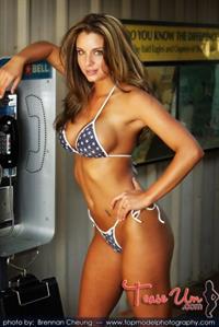 Shasta Ashley in a bikini