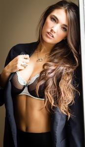 Hailee Lautenbach in lingerie