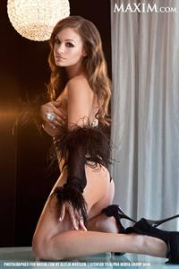 Ashley Ann Vickers in lingerie