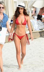 Lucy Mecklenburgh in a bikini