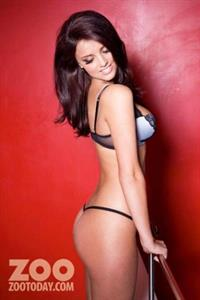 Lucy Mecklenburgh in lingerie