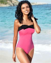 Gabriela Salvado in a bikini