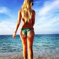 Jess Harbour in a bikini - ass