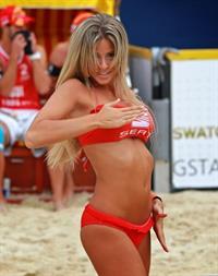 Marta Gotera in a bikini