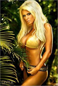 Brooke Banx in a bikini