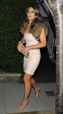 Elizabeth Hurley Woodside End of Summer party to benefit the Elton John AIDS Foundation September 4, 2014