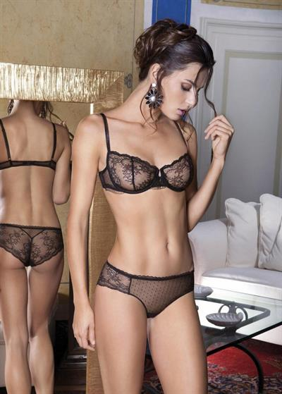 Catrinel Menghia in lingerie - ass