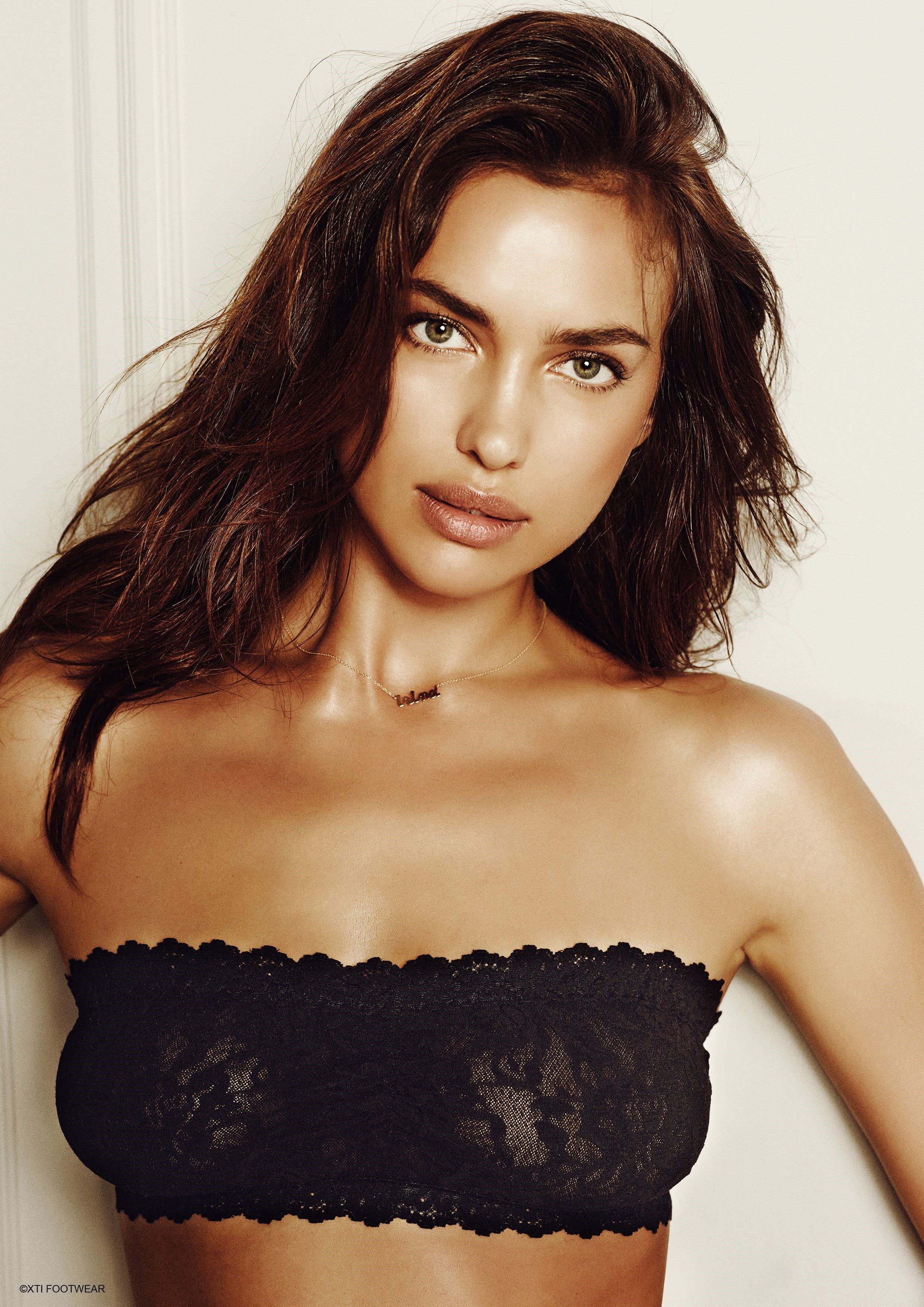 Irina Shayk Autumn Winter 2014 collection for the Spanish Shoe brand XTI September 3, 2014