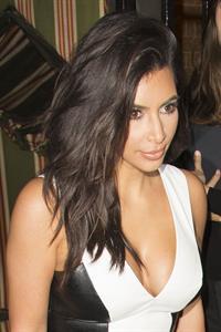 Kim Kardashian at Liberty Ross Party at Annabel's in Mayfair September 3, 2014